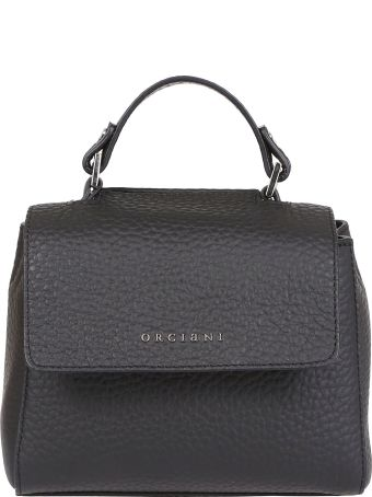 Orciani Small Pebbled Shoulder Bag
