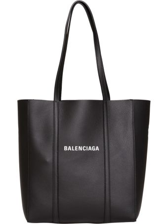 Balenciaga Everyday Extra Small Leather Tote In Black