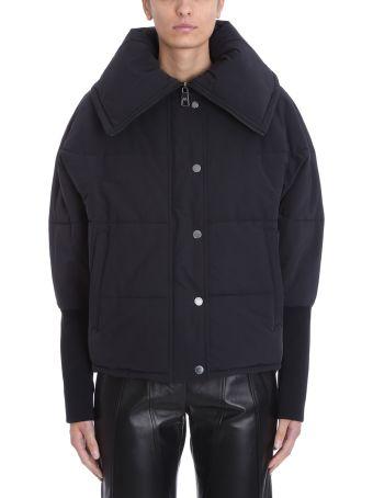 Neil Barrett Black Nylon Down Jacket