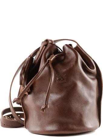 Il Bisonte Tassel Charm Shoulder Bag