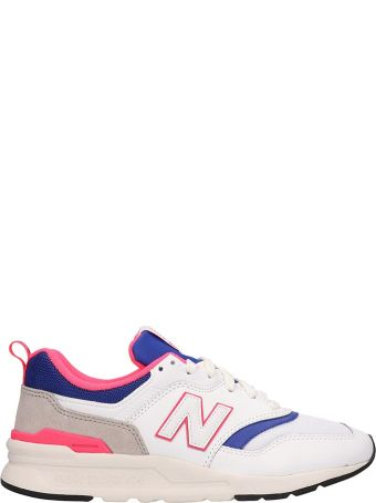 New Balance Leather And Canvas 997 Sneakers