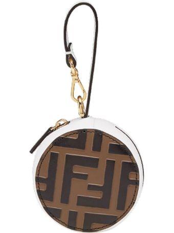 Fendi Ff Logo Bag Charm