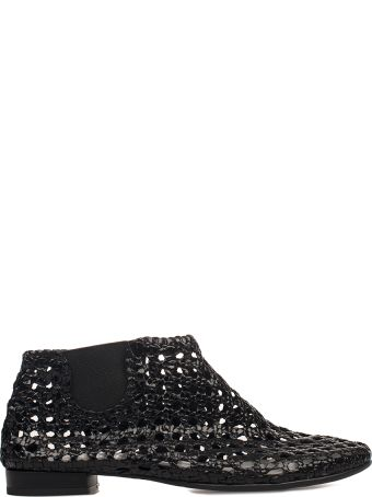 Yves Desfarge Black Jagger Leather Low Boot