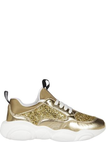 Moschino Glittery Detailed Sneakers