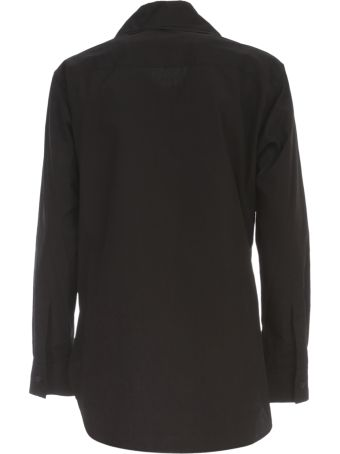 Y's U Layered Collar Shirt W/pocket