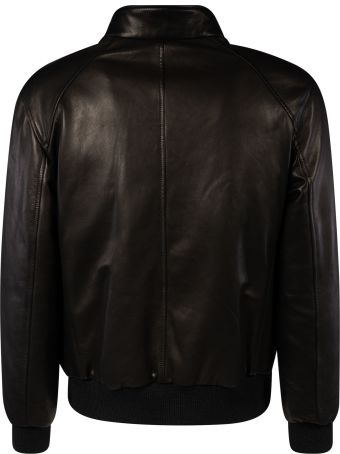 Salvatore Ferragamo Classic Chest Zipped Reversible Bomber