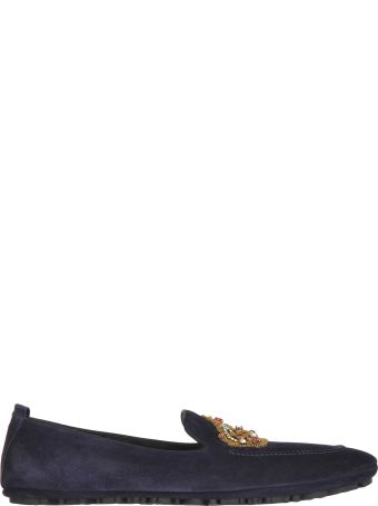 Dolce & Gabbana Dolce&gabbana Dolce & Gabbana Embroidered Slippers