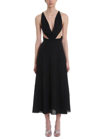 Givenchy Black Silk Evening Dress