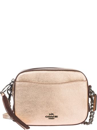 Coach  Leather Cross-body Messenger Shoulder Bag