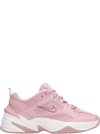 Nike M2k Techno Sneakers Pink Leather