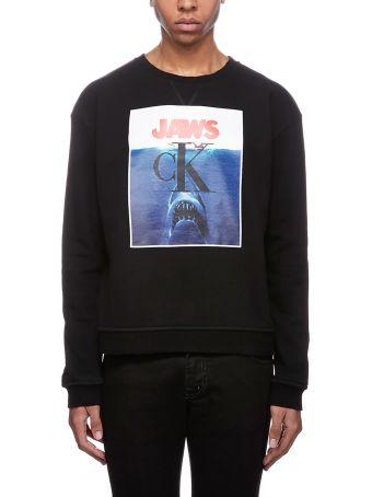 Calvin Klein Jaws Printed Sweatshirt
