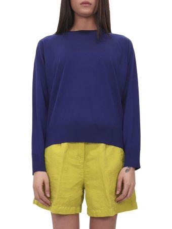 Massimo Alba Blue Lila Sweater