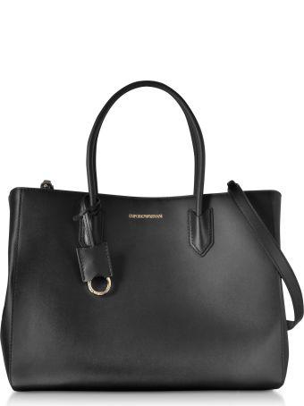 Emporio Armani Medium Tote Bag W/shoulder Strap