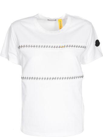 Moncler Chain Embellished T-shirt