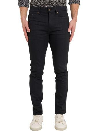 Saint Laurent Black Five-pockets Jeans