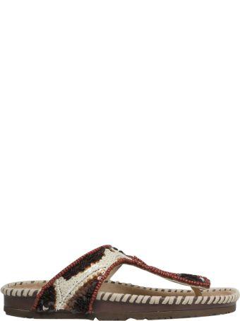 Malìparmi Maliparmi Beaded Sandals