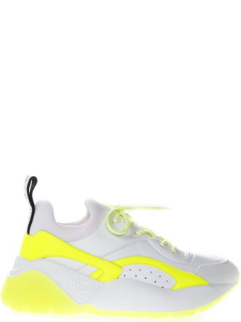 Stella McCartney Eclypse White Faux Leather Sneaker