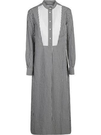 Calvin Klein Checked Dress