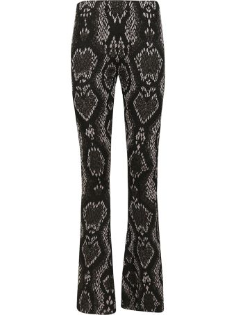 Circus Hotel Snake Effect Trousers