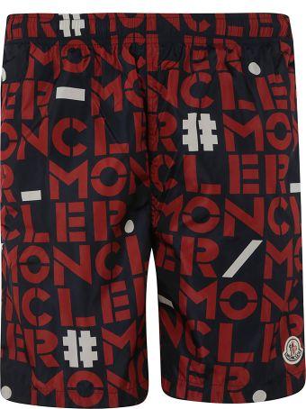 Moncler Genius 1952 Printed Summer Shorts
