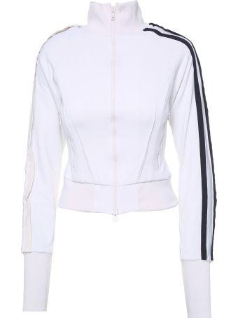 Y-3 Side-stripe Cotton-blend Jacket