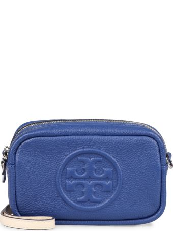 Tory Burch Perry Bombé Leather Camera Bag