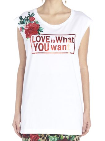 Dolce & Gabbana 'love Is What You Want' Top