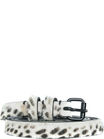 Haider Ackermann Animalier Pony Hair Belt