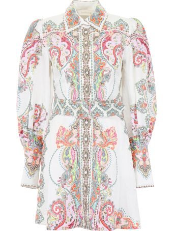 Zimmermann Ninety-six Mini Dress