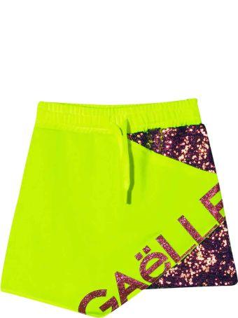 Gaelle Bonheur Green Skirt Kids Teen