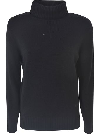 Gucci Turtleneck Ribbed Sweater
