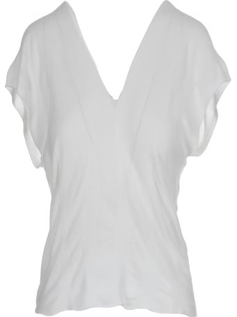 PierAntonioGaspari Stretch V-neck Top