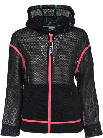 Puma Mesh Hooded Jacket