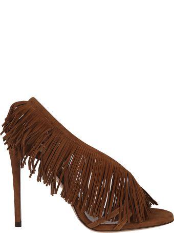 Aquazzura Wild Fringed Sandals