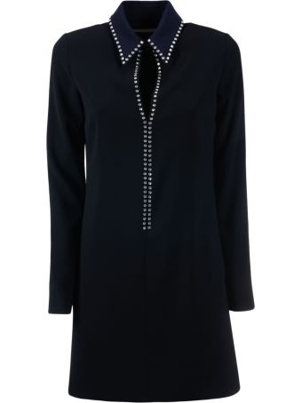 Victoria Beckham Open Front Shift Dress