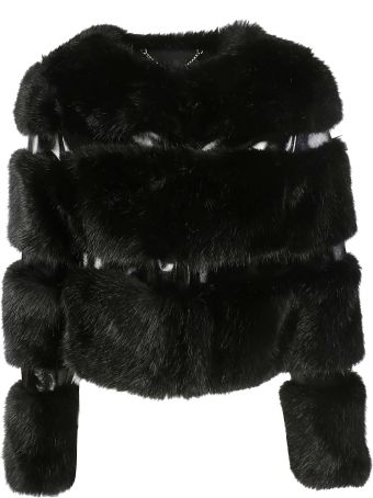 Elisabetta Franchi Celyn B. Short Fur Jacket