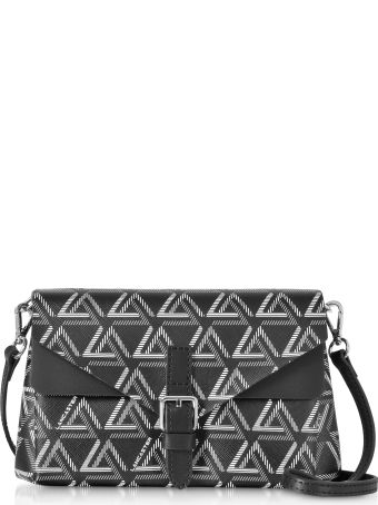 Lancaster Paris Ikon Mini Clutch W/shoulder Strap