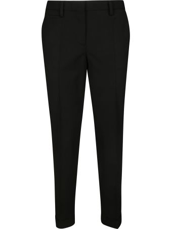 Brag-Wette Slim Fit Cropped Trousers