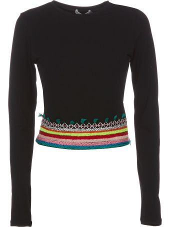 Alice + Olivia Embroidered Top