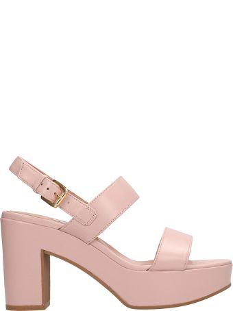 L'Autre Chose Pink Calf Sandals