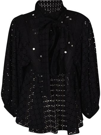 Rochas Broderie Anglaise Blouse