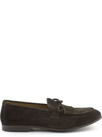 Doucal's Brown Suede Loafer