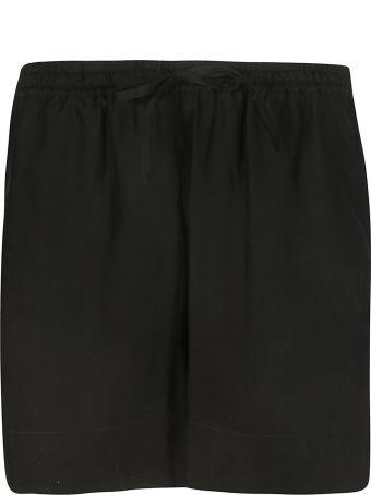 Parosh Drawstring Waist Shorts