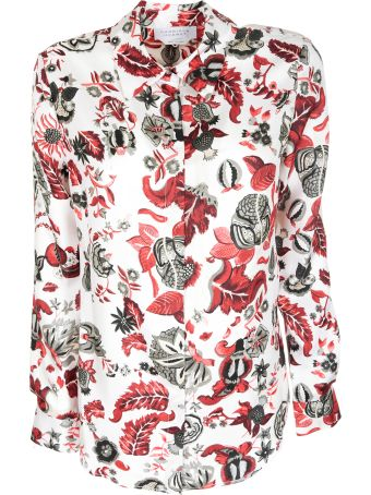 Gabriela Hearst Printed Detail Shirt