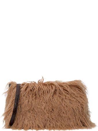 Dries Van Noten Cashmere Shoulder Bag