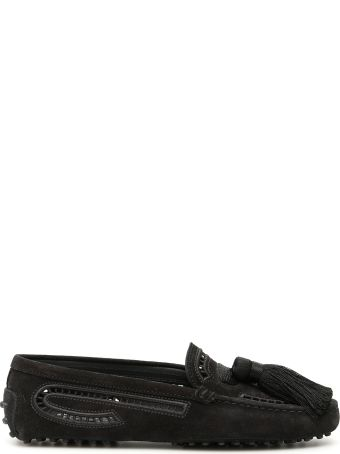 Tod's Macrame' Gommino Loafers