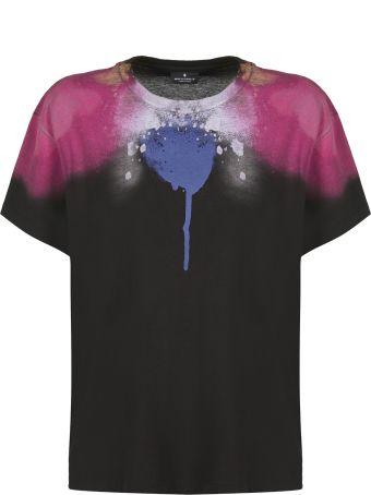 Marcelo Burlon Abstract Spray T-shirt