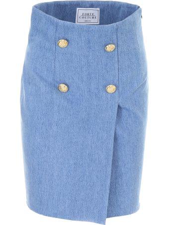 Forte Couture Denim Skirt