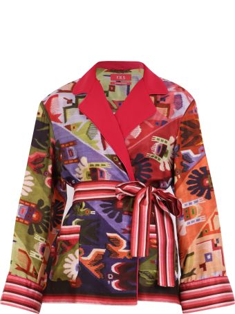 For Restless Sleepers Printed Twill Jacket