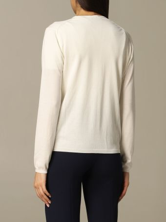 Cruciani Cardigan Cruciani Long-sleeved Cotton Cardigan